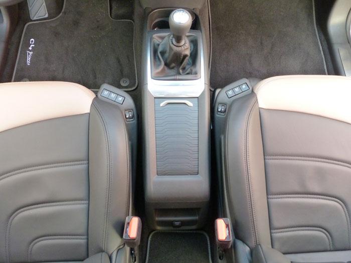Citroën C4 Picasso THP 155 Exclusive. 2013. Palanca de cambios