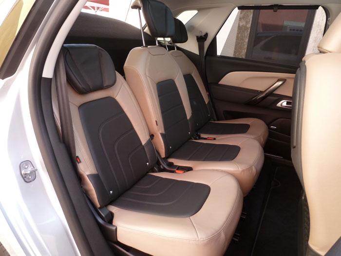 Citroën C4 Picasso THP 155 Exclusive. 2013. Asientos traseros