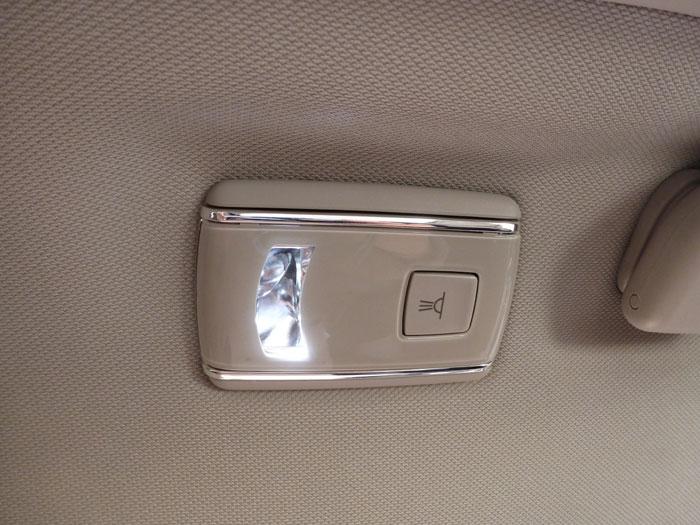 Citroën C4 Picasso THP 155 Exclusive. 2013. Luz de cortesía