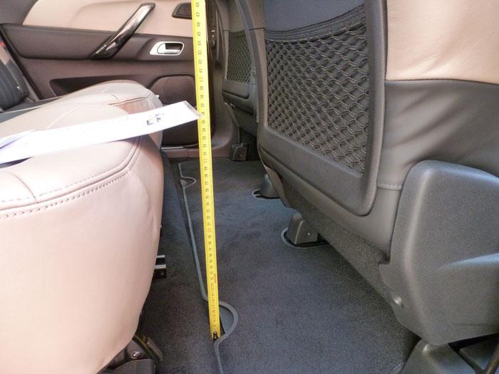 Citroën C4 Picasso THP 155 Exclusive. 2013. Espaco para las piernas