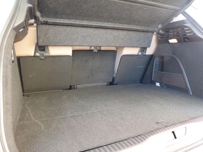 Citroën C4 Picasso THP 155 Exclusive. 2013. Capacidad del maletero