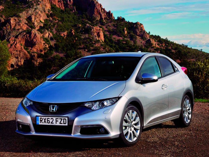 Prueba Honda Civic 1.6