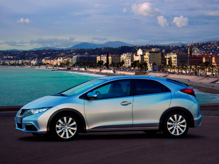 Prueba Honda Civic 1.6. Lateral