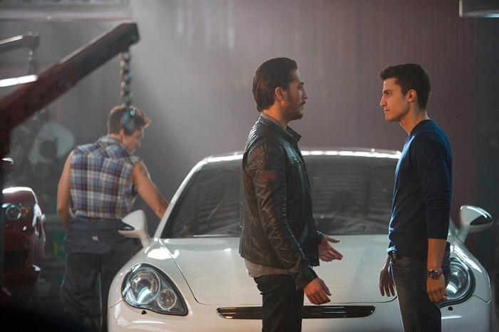 """El Porsche Panamera en la película de """"Combustión"""""""