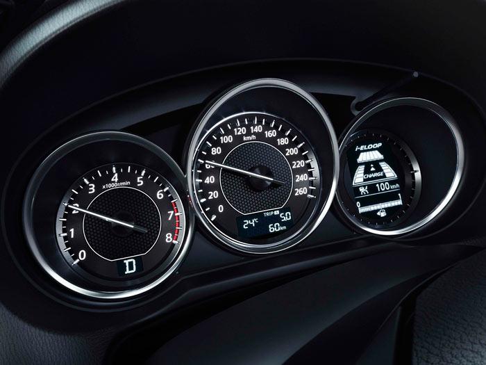 Mazda6. Prueba interesante. Cuadro de instrumentacion