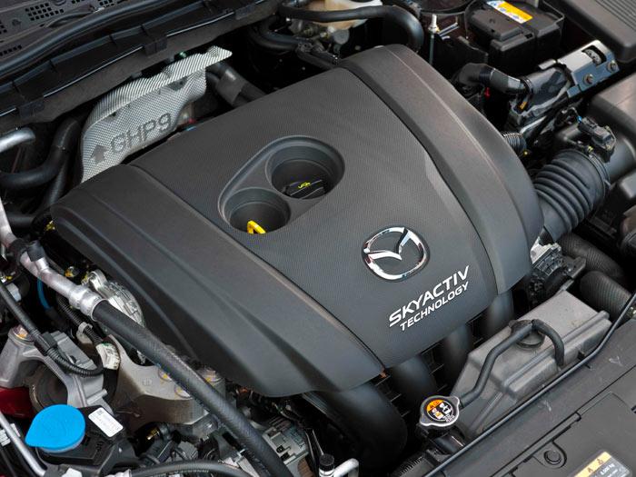 Mazda6. Prueba interesante. Motor