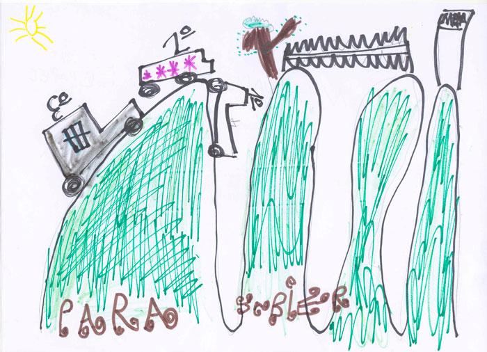 Eco Desafío 2013. Dibujo de David