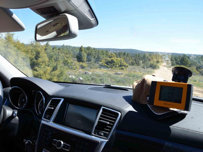 Eco Desafío 2013. Mercedes-Benz GL 350. Rutómetro