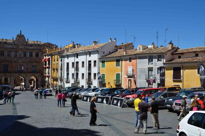 Eco Desafío 2013. Plaza Mayor de Cuenca