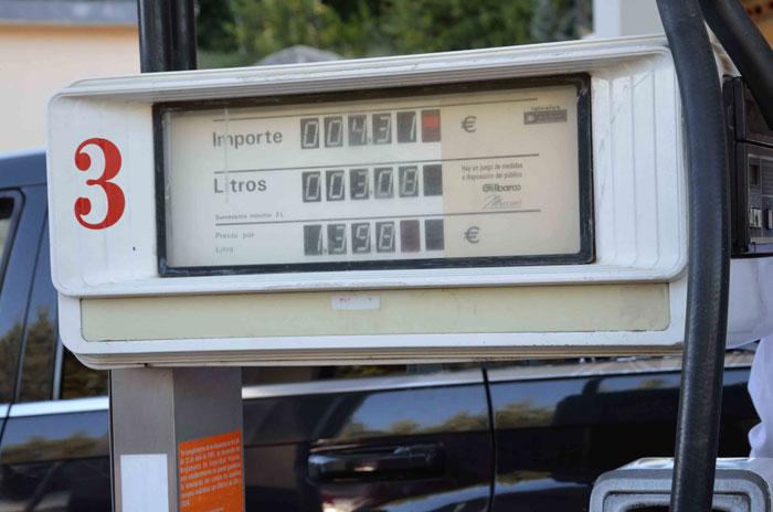 Eco Desafío 2013. Surtidor gasolinera