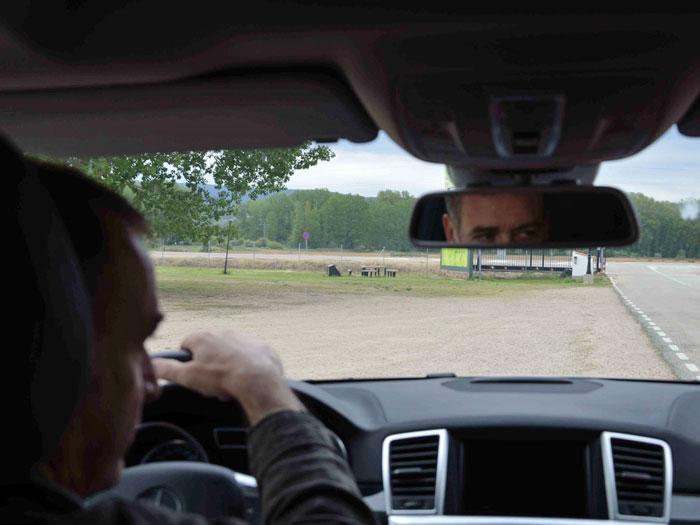 Eco Desafío 2013. Mercedes-Benz GL 350. Habitáculo
