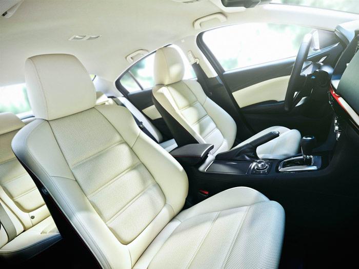 Mazda6. Asientos delanteros