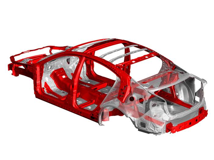 Mazda6. Prueba interesante. Chasis
