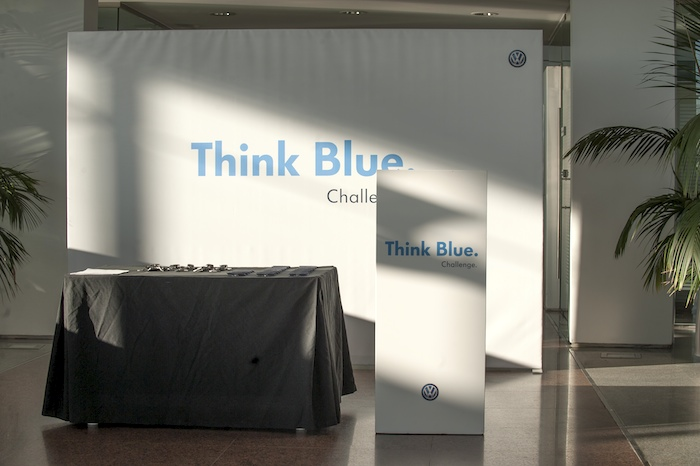 Volkswagen. Think Blue. Challenge 2013.  Madrid