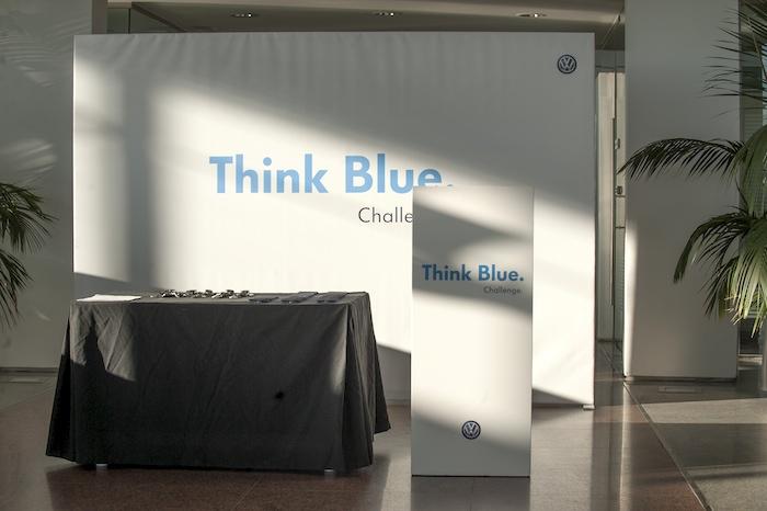 Volkswagen. Think Blue. Challenge 2013.  Madrid