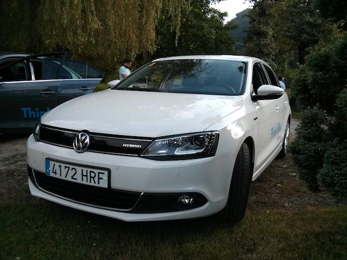 Volkswagen Jetta Hybrid. Think Blue. Challenge 2013. Spain.