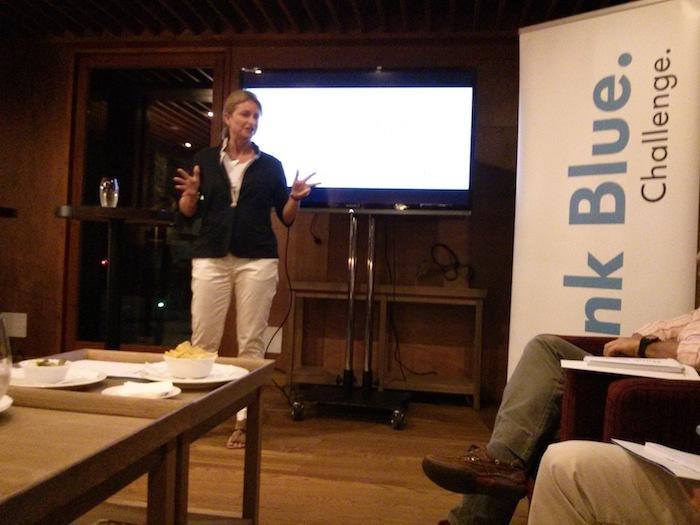 Laura Ros. Directora de marketing de Volkswagen. Bosque. Think Blue. Challenge 2013.