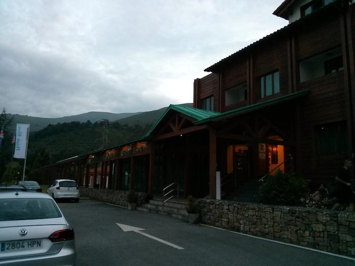 Hotel Reserva del Saja. Bosque. Think Blue. Challenge 2013. Cantabria.