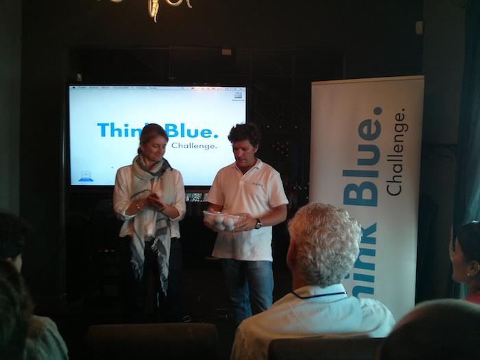 Sorteo de emparejamientos. Think Blue. Challenge 2013. Spain.