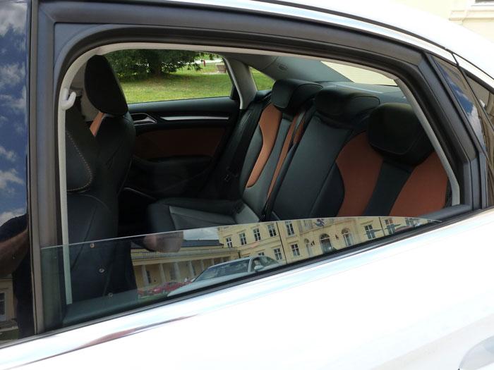 Audi A3 Sedan. 2013. Interior, asientos
