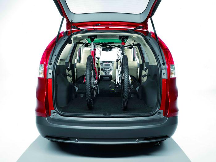 Honda CR-V. Prueba de consumo. Maletero
