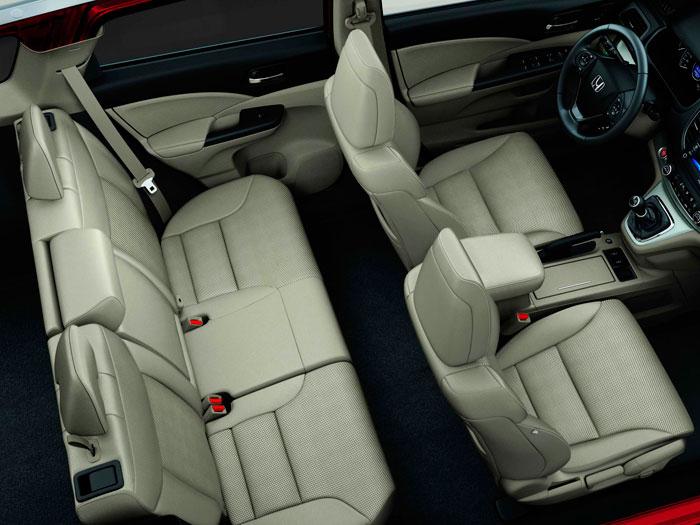 Honda CR-V. Prueba de consumo. Asientos
