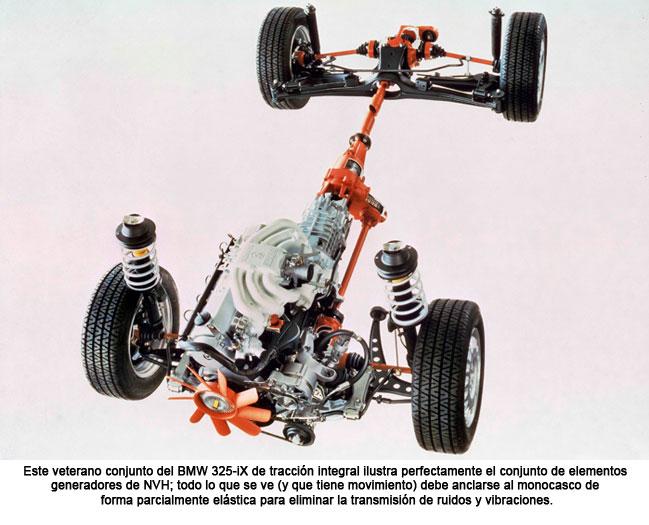 Conjunto del BMW 325-iX de tracción integral