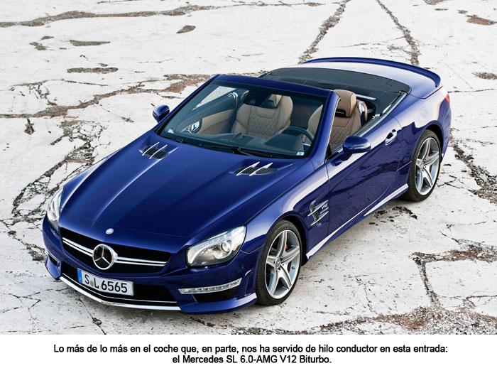 Mercedes SL 6.0-AMG V12 Biturbo