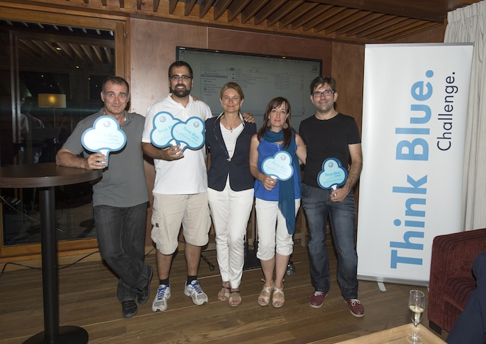 Ganadores. Bosque. Think Blue. Challenge 2013.
