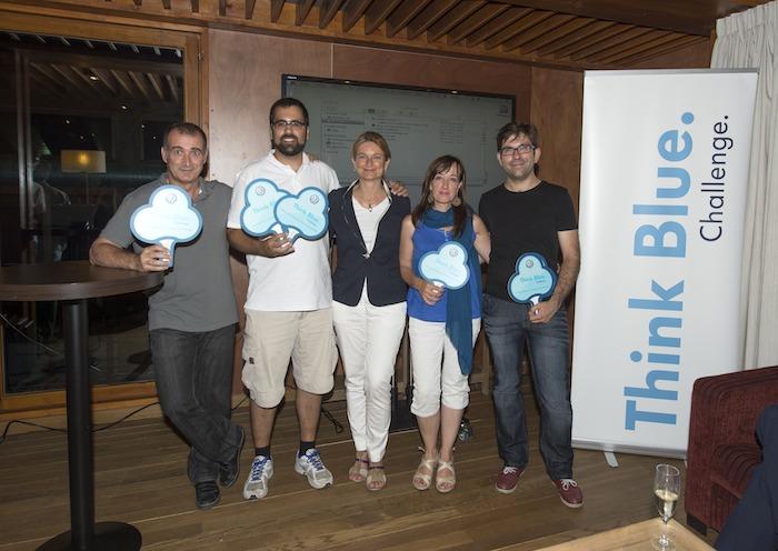 Ganadores. Bosque. Think Blue. Challenge 2013.