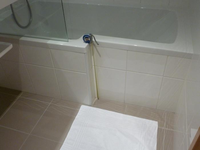 Los cien metros bañeras