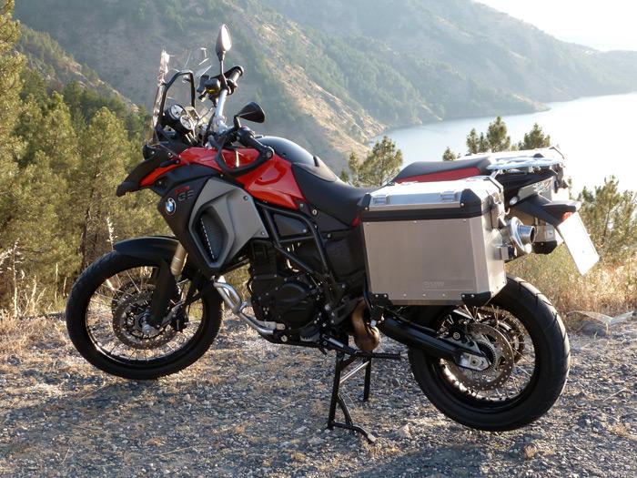 El motorista novato: BMW F 800 GS. La moto terapéutica.