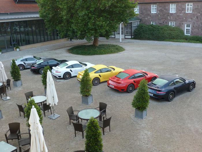 Porsche 911 Turbo y Turbo S. Relato de una prueba, vídeo en circuito, llantas y colores