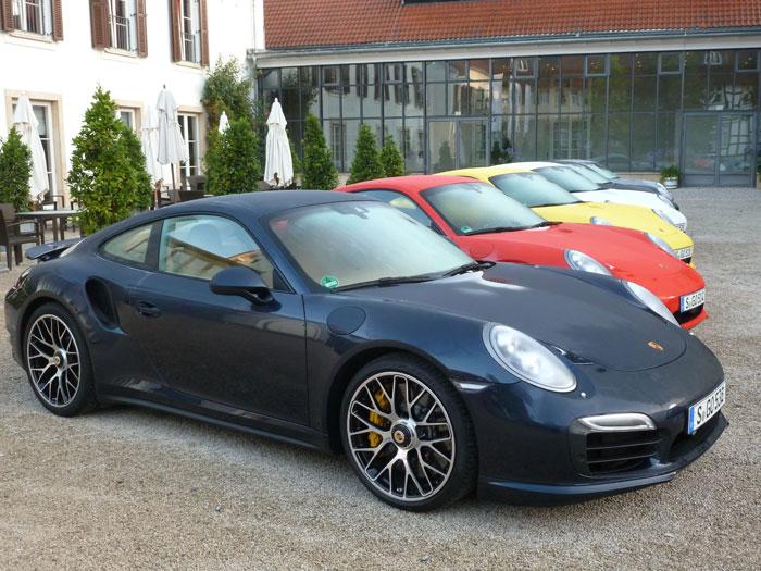 Porsche 911 turbo. 2013. Presentación en Alemania
