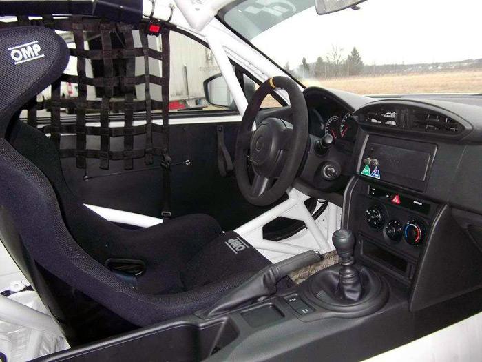 Subaru BRZ TS. Interior