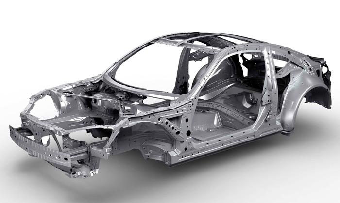 Subaru BRZ TS. Chasis