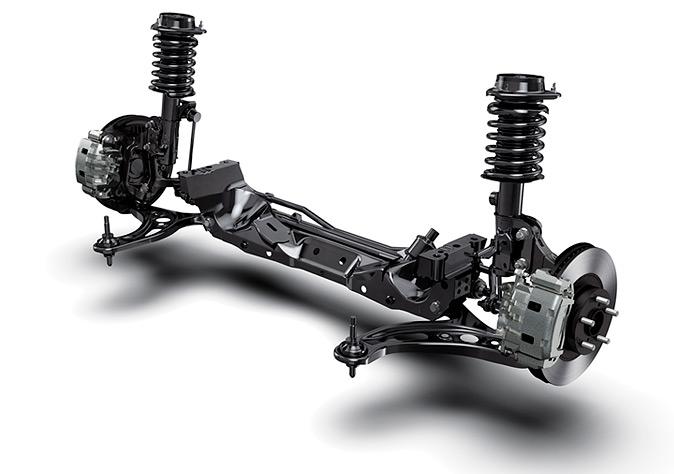 Subaru BRZ TS. Suspensión
