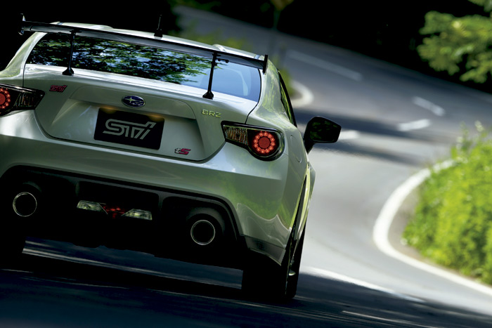 Subaru BRZ TS.