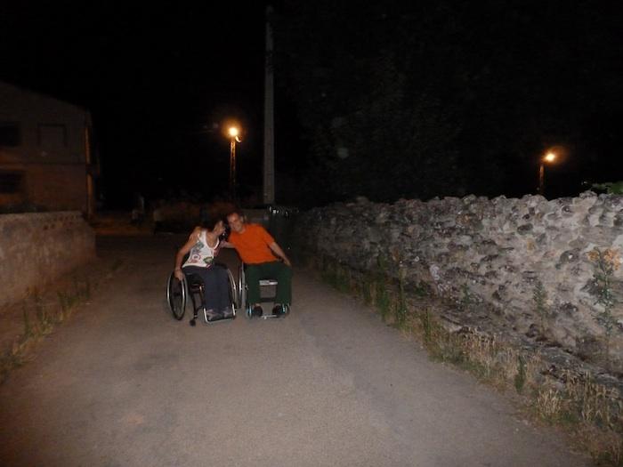 Mi primera excursión en silla de ruedas