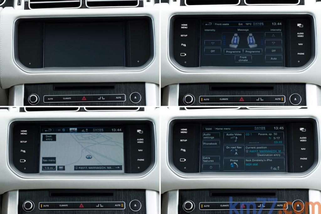 Range Rover navegador