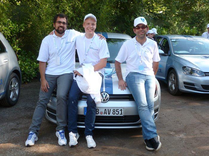 Think Blue. Championship 2013. Españoles en el podio.