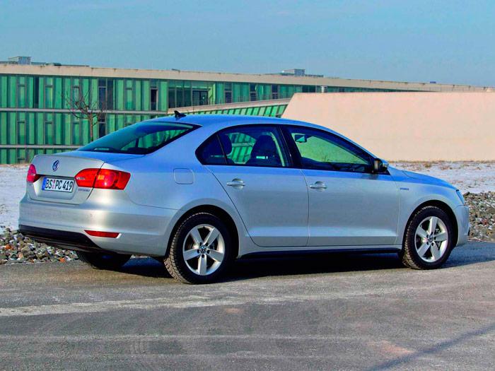 Volkswagen Jetta Hybrid. Prueba de consumo. Lateral