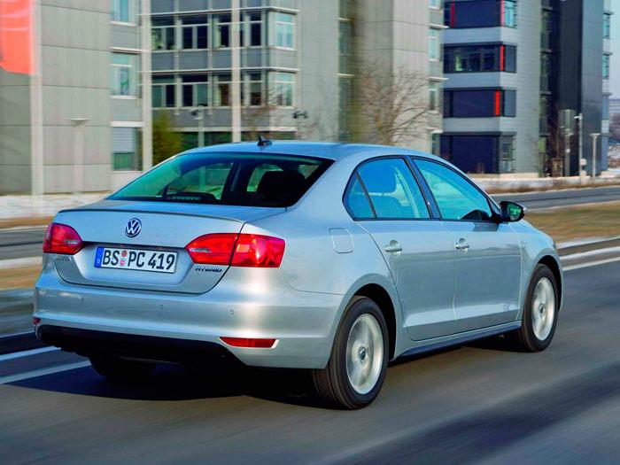 Volkswagen Jetta Hybrid. Prueba de consumo. Posterior