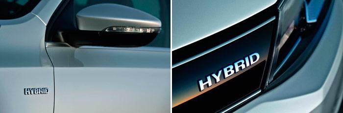 Volkswagen Jetta Hybrid. Anagrama