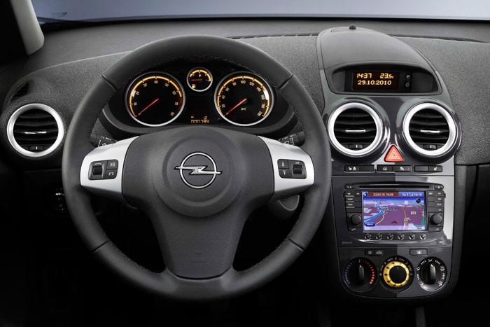 Opel Corsa. Prueba de consumo. Salpicadero. Interior