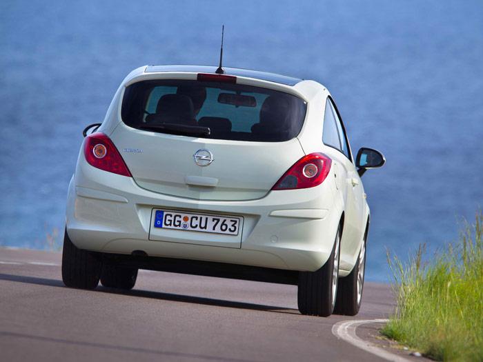 Opel Corsa. Prueba de consumo. Movimiento curva
