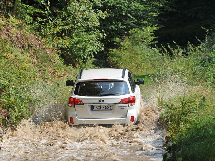 Subaru Legacy Outback 2.0D Lineartronic