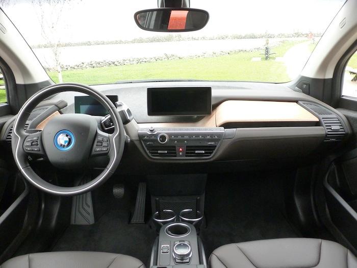 BMW i3. Salpicadero.