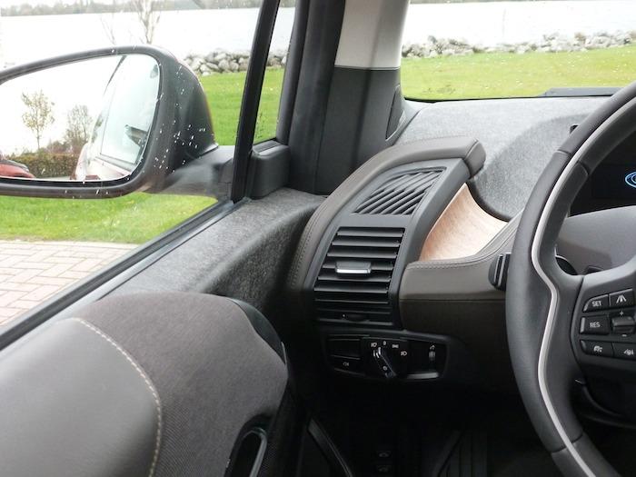 BMW i3 Unión salpicadero puerta izquierda