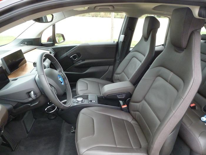BMW i3 Asientos delanteros